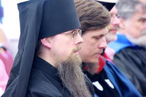 Hierodeacon Herman (Majkrzak), recipient of the St. Macrina Award for Excellence in Teaching