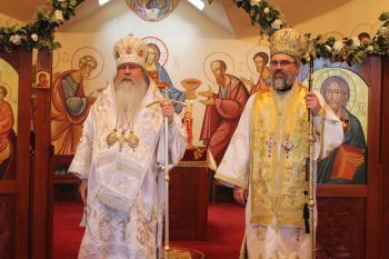 Metropolitan Tikhon with Bishop Ioan