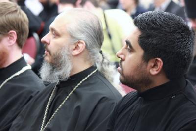 Fr. Michael Rozdilski and Shawn Thomas, Class of 2016