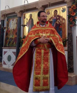Archpriest Eric Tosi, newly appointed Assistant Professor of Liturgics at the Seminary