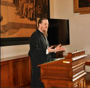 Metropolitan Kallistos Chair of Orthodox TheologyThe Very Reverend Dr. John Behr, Dean