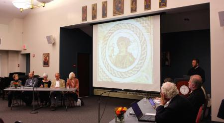 Public Panel Discussion on the Sacred Arts (photo: Mary Honoré)