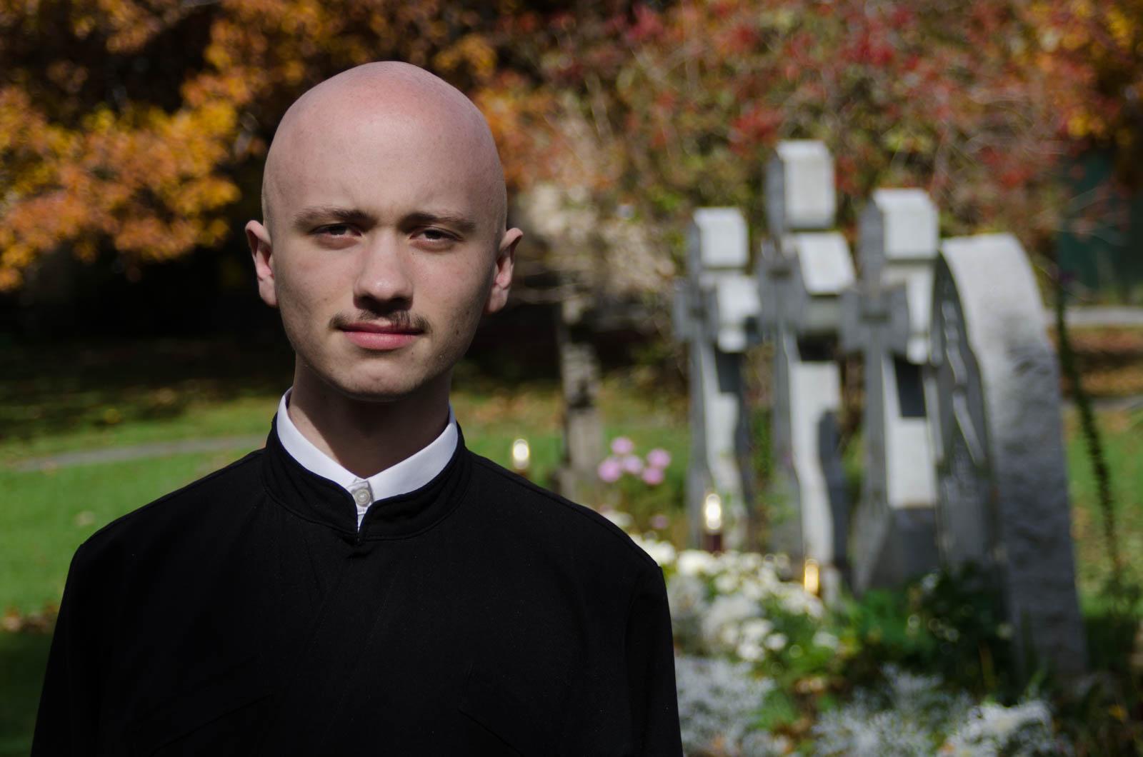 Seminarian Edmund Underwood