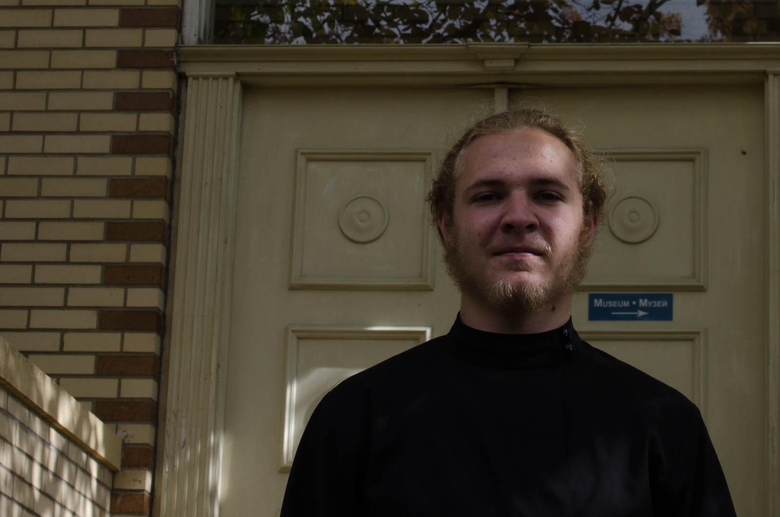 Seminarian James Racz