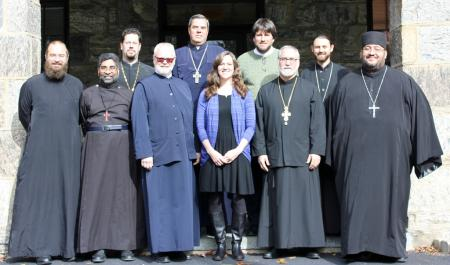 D.Min. Cohort of 2019 with instructors Fr. Joseph Purpura and Fr. Gregory Edwards (photo: Mary Honoré)