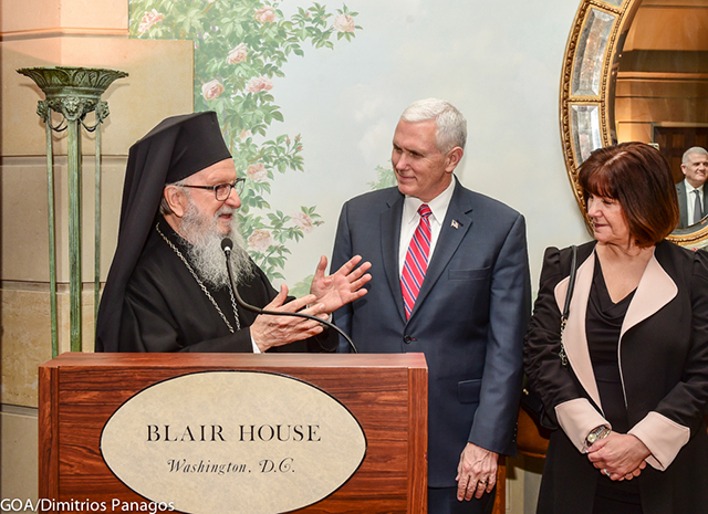 HCHC President Attends Event in Honor of Archbishop