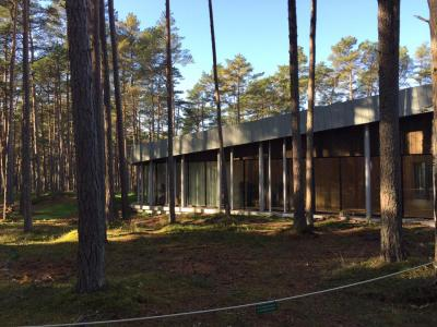 The Arvo Pärt Centre is situated in a forest in Laulasmaa, 21 miles from the Estonian capital, Tallinn.