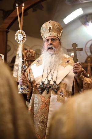 His Beatitude Metropolitan Tikhon will deliver meditations during the 2020 St. Vladimir's Seminary Lenten Retreat (Photo: Michael Sellas Photography)